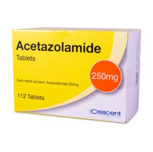 Acetazolamide 250mg Tablets