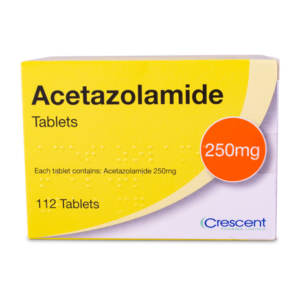 Acetazolamide 250mg Tablets