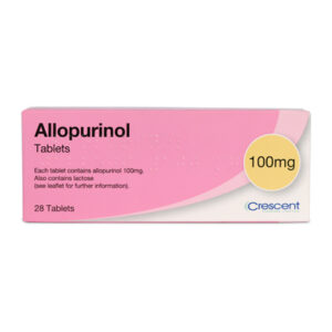 Allopurinol 100mg Tablets 28s