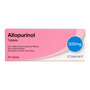 Allopurinol 300mg Tablets 28s