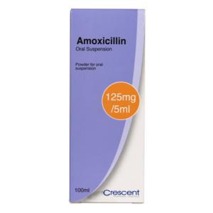 Amoxicillin 125mg Oral Suspension