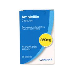 Ampicillin 250mg Capsules