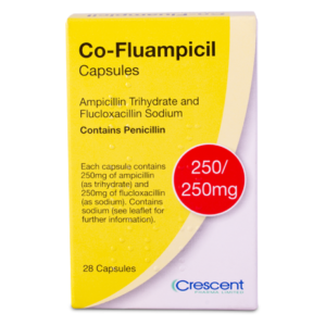 Co-Fluampicil 250mg/250mg Capsules
