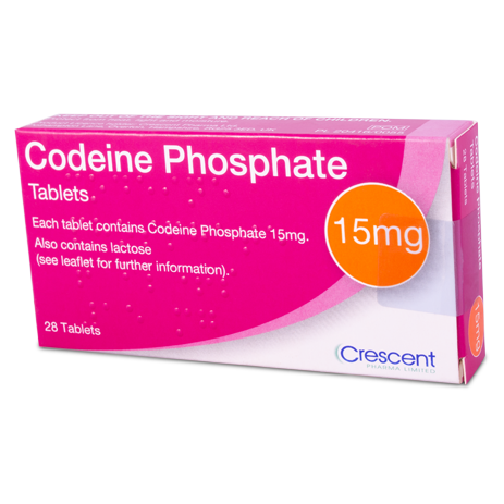 Codeine Phosphate 15mg Tablets