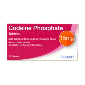 Codeine Phosphate 15mg Tablets