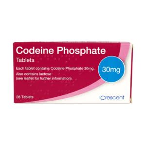 Codeine Phosphate 30mg Tablets
