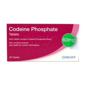 Codeine Phosphate 60mg Tablets