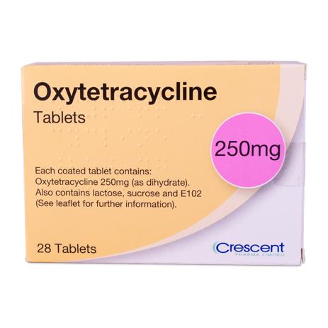 Oxytetracycline 250mg Tablets
