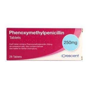 Phenoxymethylpenicillin 250mg Tablets