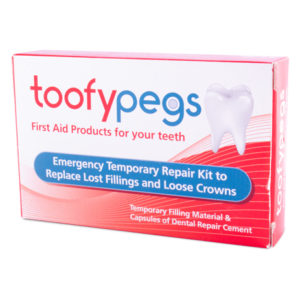 Toofypegs Emergency Dental Repair Kit