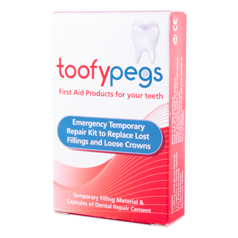 Toofypegs Emergency Dental Repair Kit