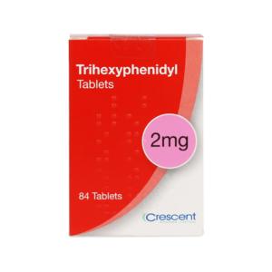 Trihexyphenidyl 2mg Tablets