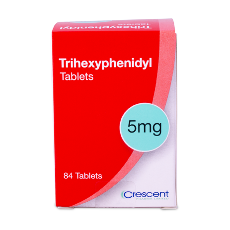 Trihexyphenidyl 5mg Tablets
