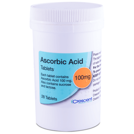 Ascorbic Acid 100mg Tablets