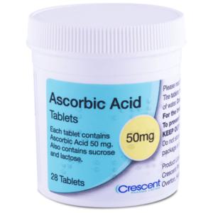 Ascorbic Acid 50mg Tablets