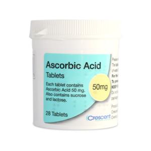 Ascorbic Acid 50mg Tablets 28s