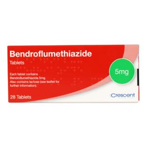 Bendroflumethiazide 5mg Tablets