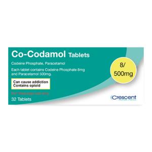 Co-Codamol 8/500mg Tablets (P)