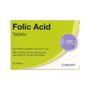 Folic Acid 5 mg Tablets