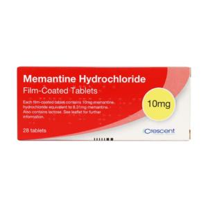 Memantine Hydrochloride 10mg Film-coated Tablets