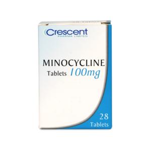Minocycline 100mg Tablets