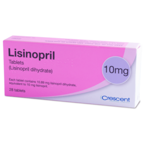 Lisinopril Tablets - 10mg