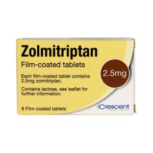 Zolmitriptan 2.5mg Film-coated Tablets
