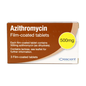 Azithromycin 500mg Film-coated tablets