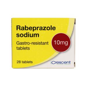 Rabeprazole Sodium 10mg Gastro-resistant Tablets
