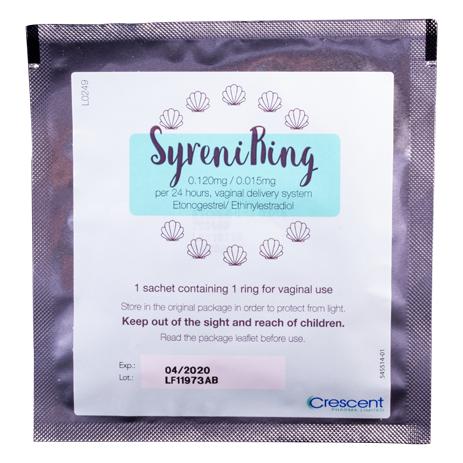 SyreniRing (etonogestrel/ethinyl estradiol) Vaginal Contraceptive Ring