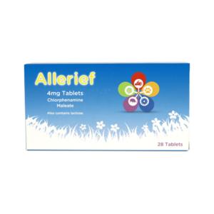 Allerief 4mg Tablets