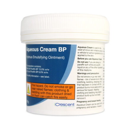 Aqueous Cream BP 100g - Half Price Perfumes