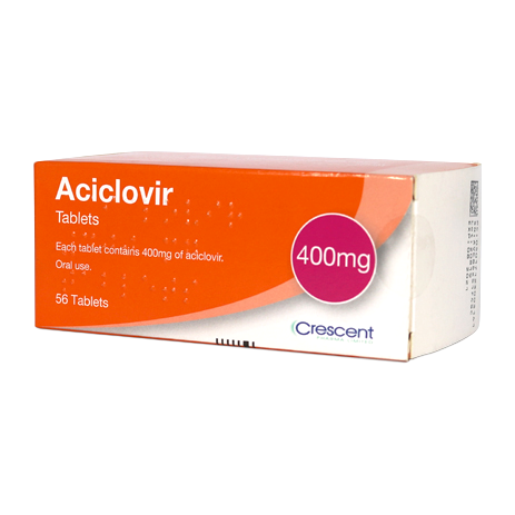 Aciclovir 400mg Tablets 56s