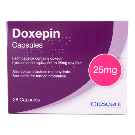 Doxepin 25mg Capsules