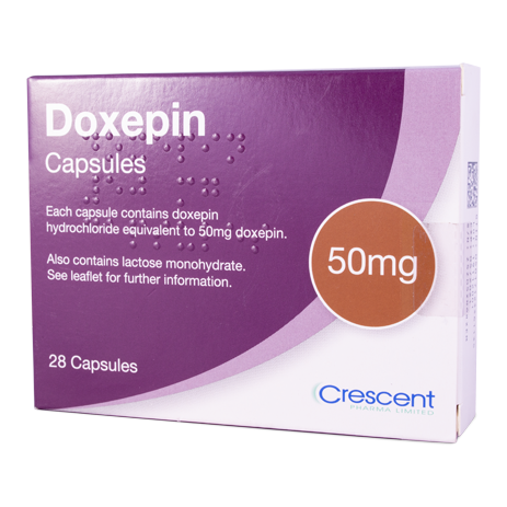 Doxepin 50mg Capsules
