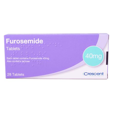 Furosemide 40mg Tablets - 28s