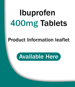 Ibuprofen 400mg Tablets PIL