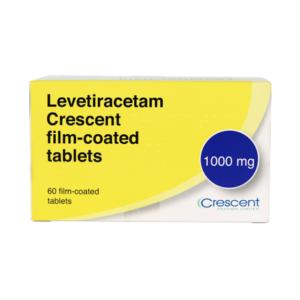 Levetiracetam Crescent 1000mg Film-coated Tablets