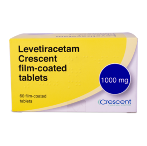 Levetiracetam Crescent 1000mg Film-coated Tablets