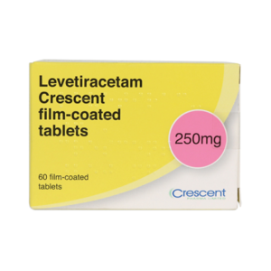 Levetiracetam Crescent 250mg Film-coated Tablets