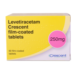 Levetiracetam Crescent 250mg Film-coated Tablets
