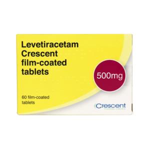 Levetiracetam Crescent 500mg Film-coated Tablets