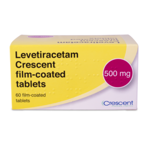 Levetiracetam Crescent 500mg Film-coated Tablets