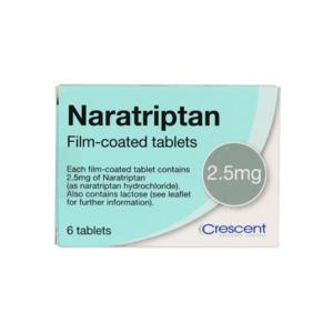 Naratriptan 2.5mg Film-coated Tablets