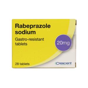 Rabeprazole Sodium 20mg Gastro-resistant Tablets