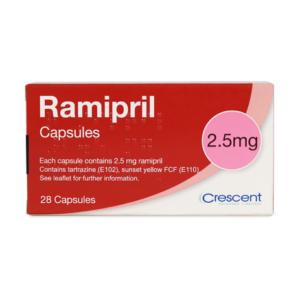 Ramipril 2.5 mg Capsules