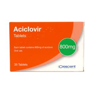 Aciclovir 800mg Tablets