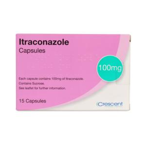Itraconazole 100mg Capsules