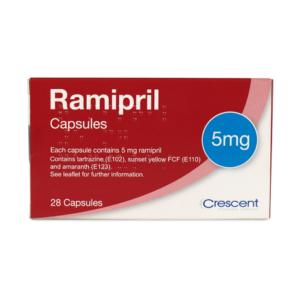 Ramipril 5 mg Capsules