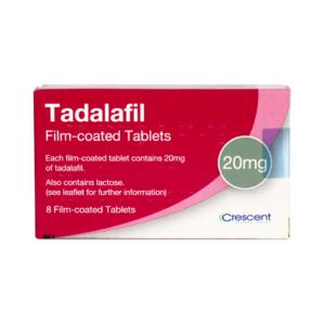 Tadalafil 20mg Film-coated Tablets